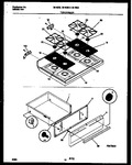 Diagram for 07 - Cooktop And Drawer Parts