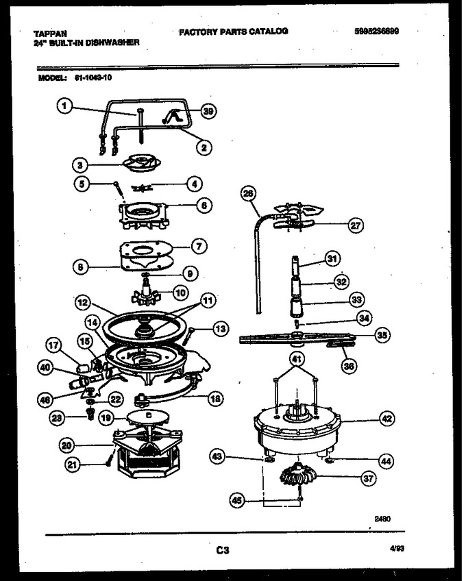 Diagram for 61-1043-10-00