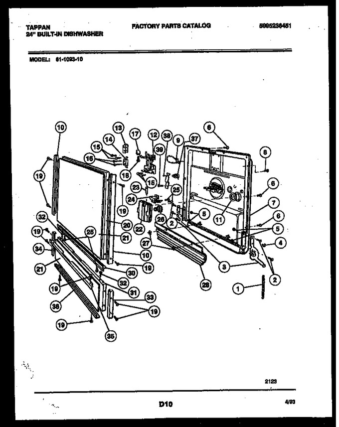 Diagram for 61-1093-10-00