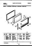 Diagram for 09 - Upper Oven Door Parts