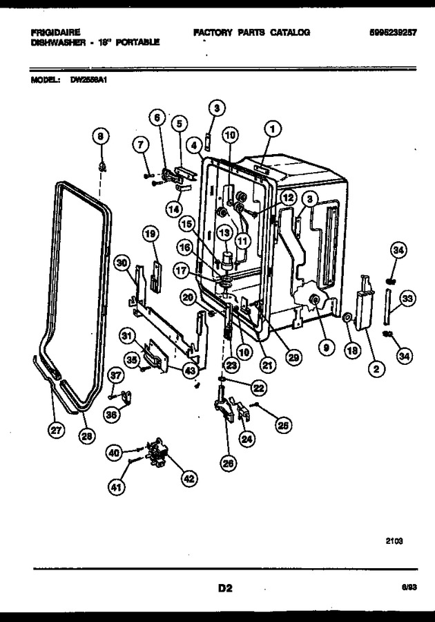 Diagram for DW2558A1