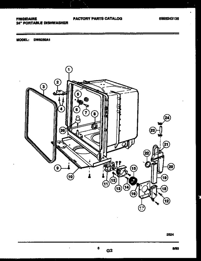 Diagram for DW6250A1