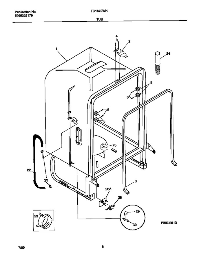 Diagram for FD1870WHB0