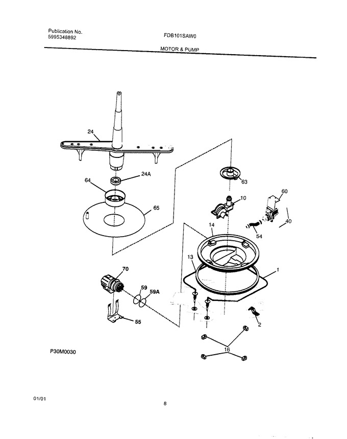 Diagram for FDB101SAW0