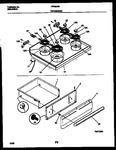 Diagram for 05 - Cooktop And Drawer Parts