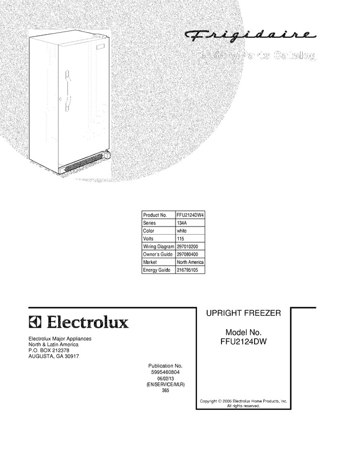 Diagram for FFU2124DW4