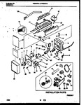 Diagram for 16 - Ice Maker And Installation Parts