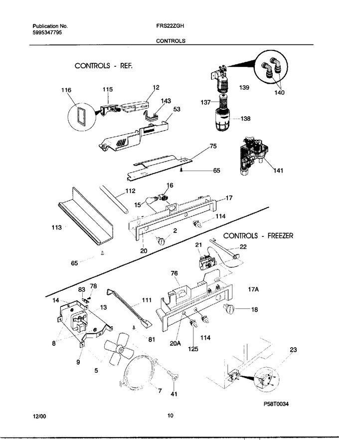 Diagram for FRS22ZGHD6