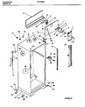 Diagram for 03 - Cabinet W/fan Assembly