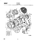 Diagram for 04 - P12t0041  Wshr  Tub,motor