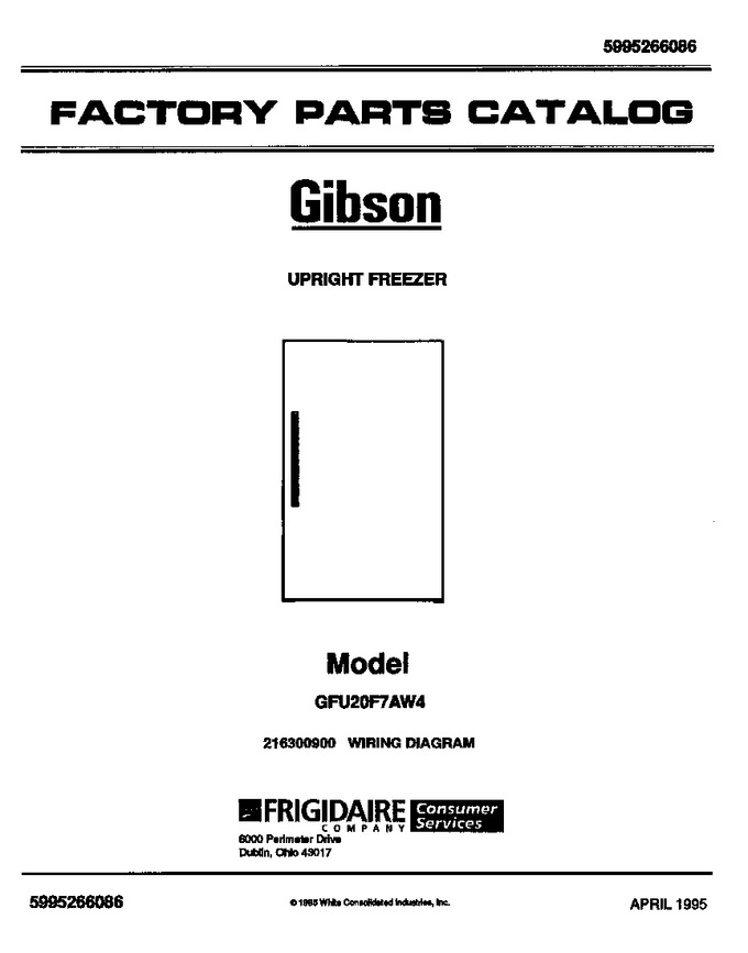 Diagram for GFU20F7AW4