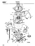 Diagram for 03 - Washer Motor, Hose