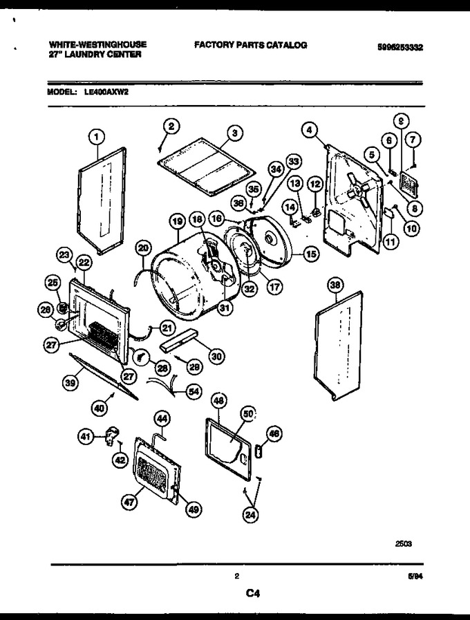 Diagram for LE400AXW2