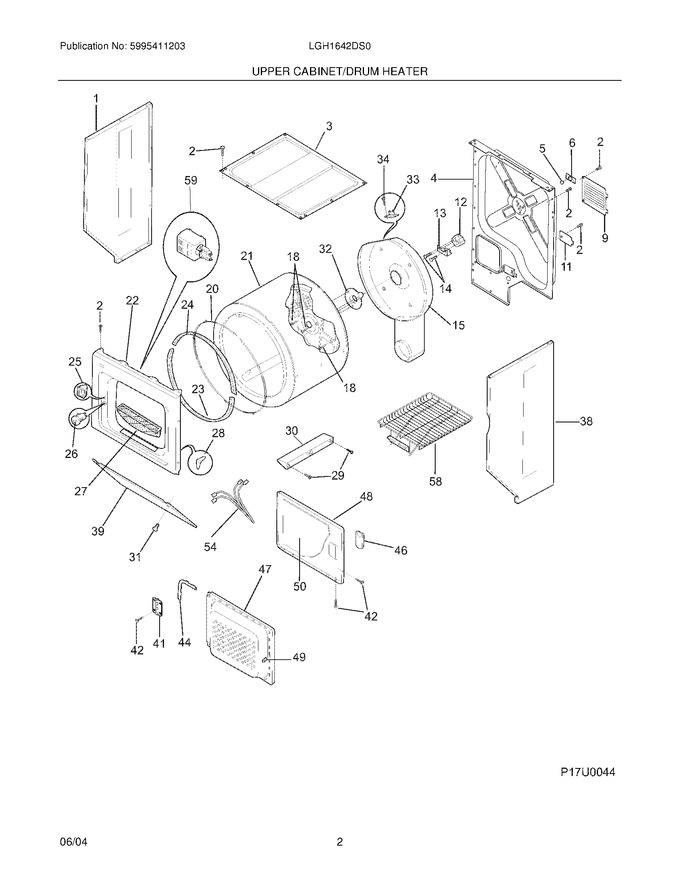 Diagram for LGH1642DS0