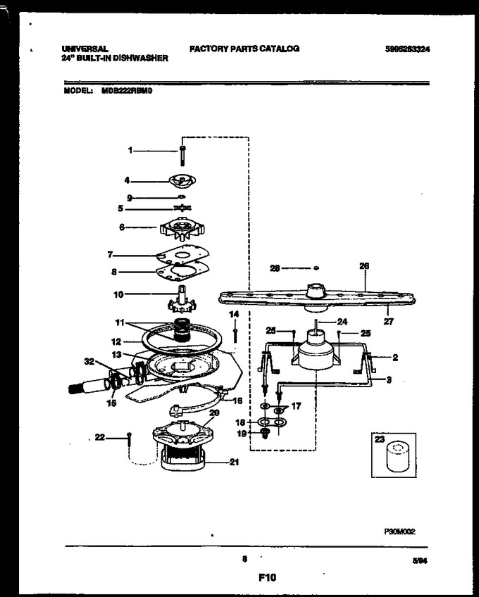 Diagram for MDB222RBM0