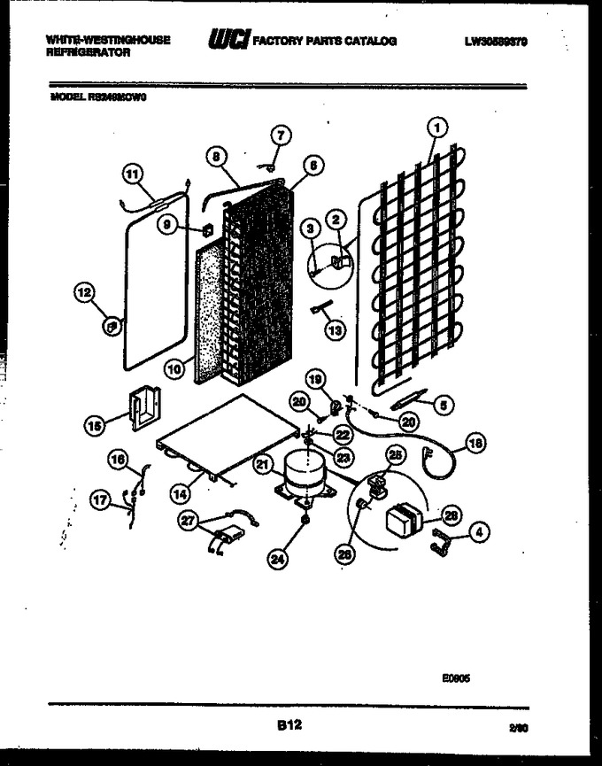 Diagram for RS249MCW0