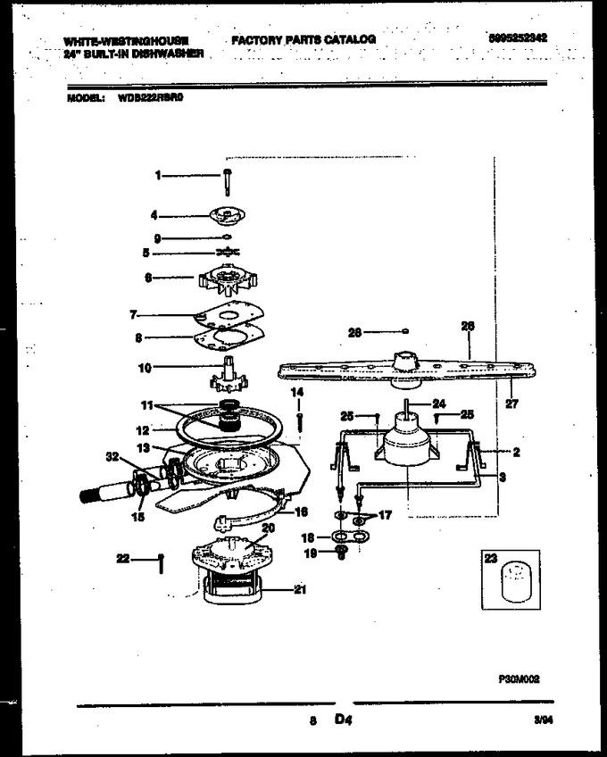 Diagram for WDB222RBR0