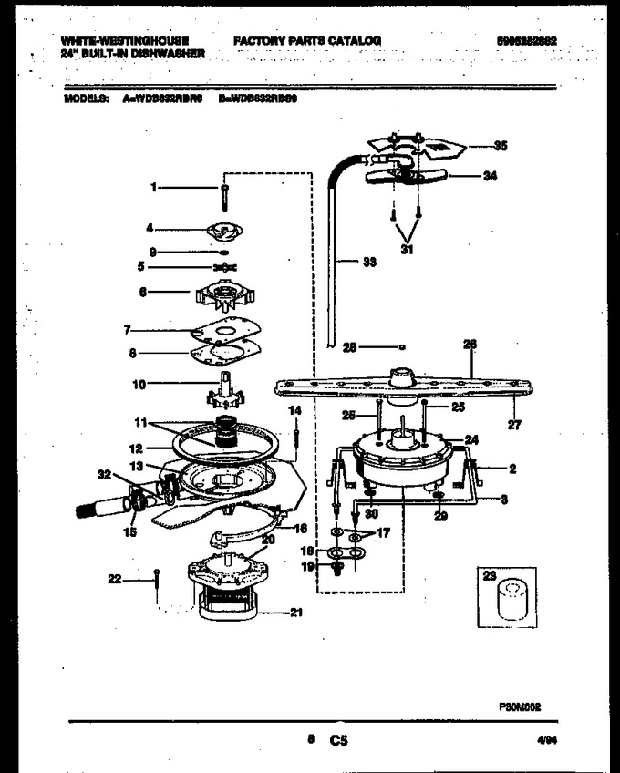 Diagram for WDB632RBR0