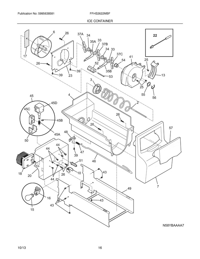 Diagram for FFHS2622MBF