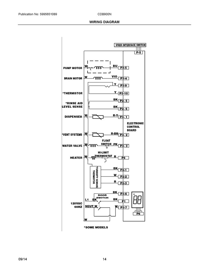 Diagram for CDB900NS2A