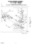 Diagram for 04 - 8318272 Burner Assembly, Optional Parts (not Included)