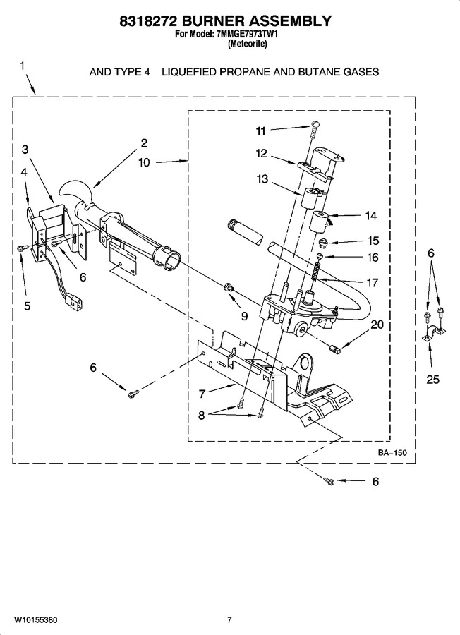 Diagram for 7MMGE7973TW1