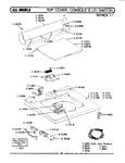 Diagram for 08 - Top Cover, Console & Lid Switch (ser 11)