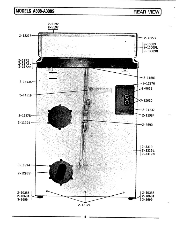 Diagram for A308S