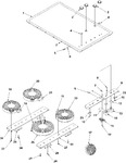 Diagram for 01 - Cooktop Assembly