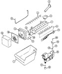 Diagram for 08 - Optional Ice Maker Kit-uki1000axx (bsq)