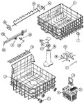 Diagram for 06 - Track & Rack Assembly (dwu7702aam)
