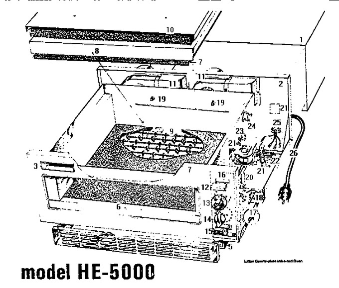Diagram for HE-5000