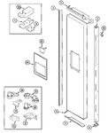 Diagram for 06 - Freezer Outer Door