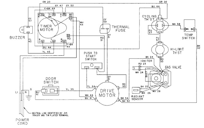 Diagram for LDG8304AAE