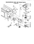 Diagram for 04 - Magnetron Assembly