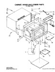 Diagram for 01 - Cabinet Assembly