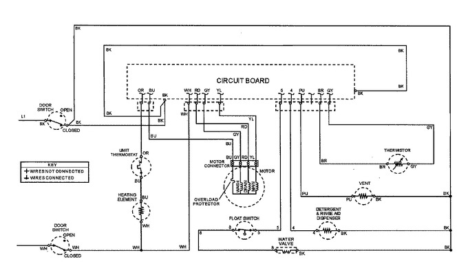 Diagram for MDB5100AWQ