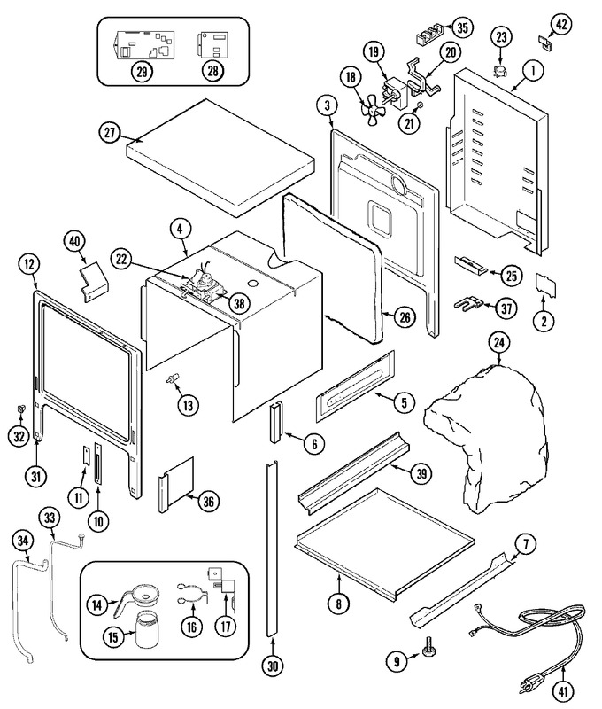 Diagram for SVE47100WC