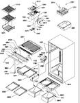 Diagram for 07 - Interior Cabinet And Drain Block Assy