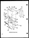 Diagram for 05 - Ref Door Parts