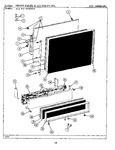 Diagram for 04 - Front & Access Panel