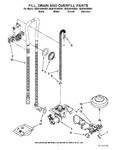 Diagram for 04 - Fill, Drain And Overfill Parts