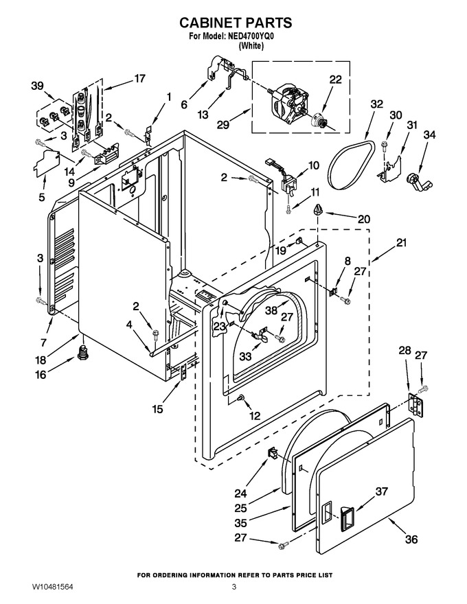 Diagram for NED4700YQ0