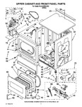 Diagram for 03 - Upper Cabinet And Front Panel Parts