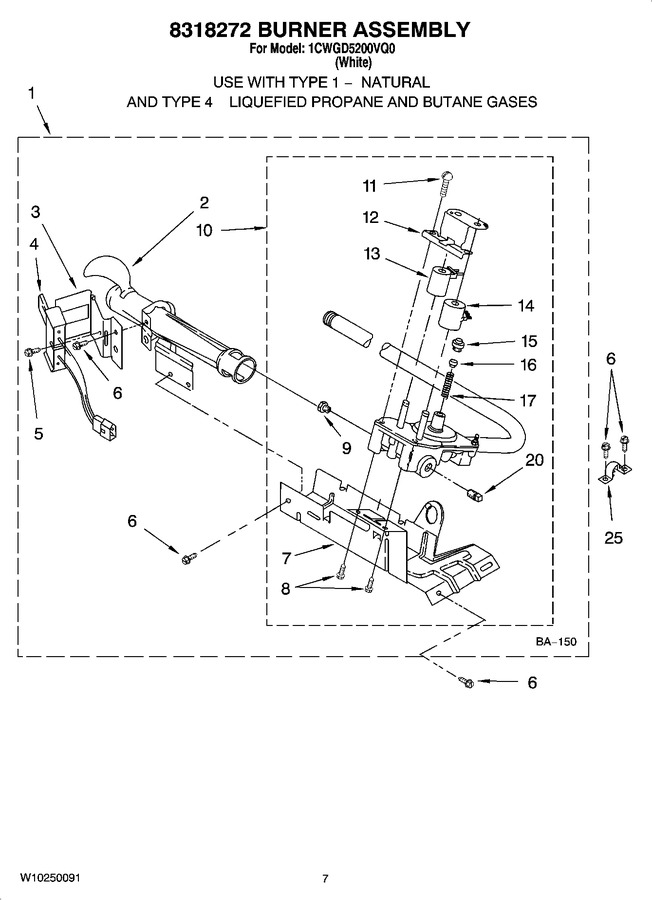 Diagram for 1CWGD5200VQ0