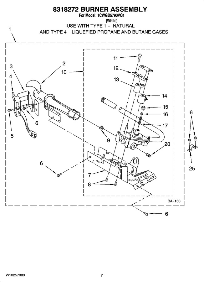 Diagram for 1CWGD5790VQ1