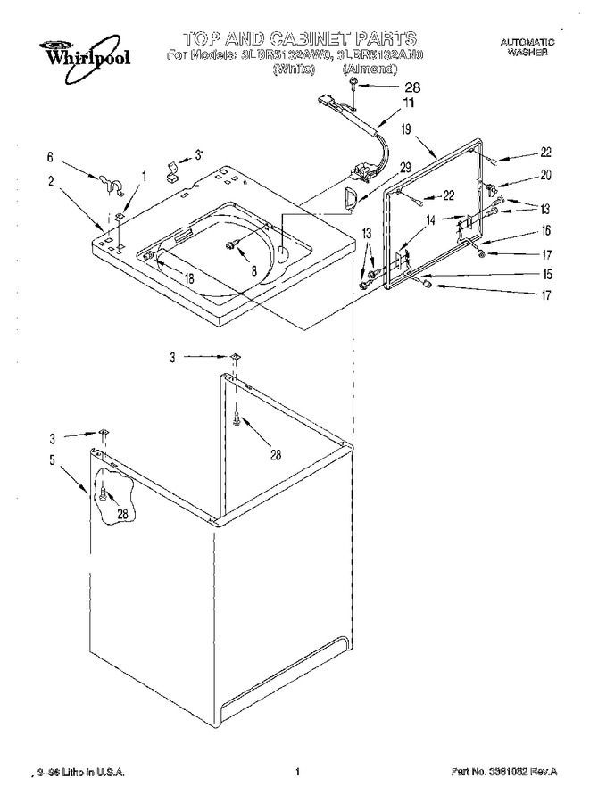 Diagram for 3LBR5132AW0