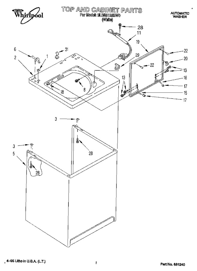Diagram for 3LBR5132BW0