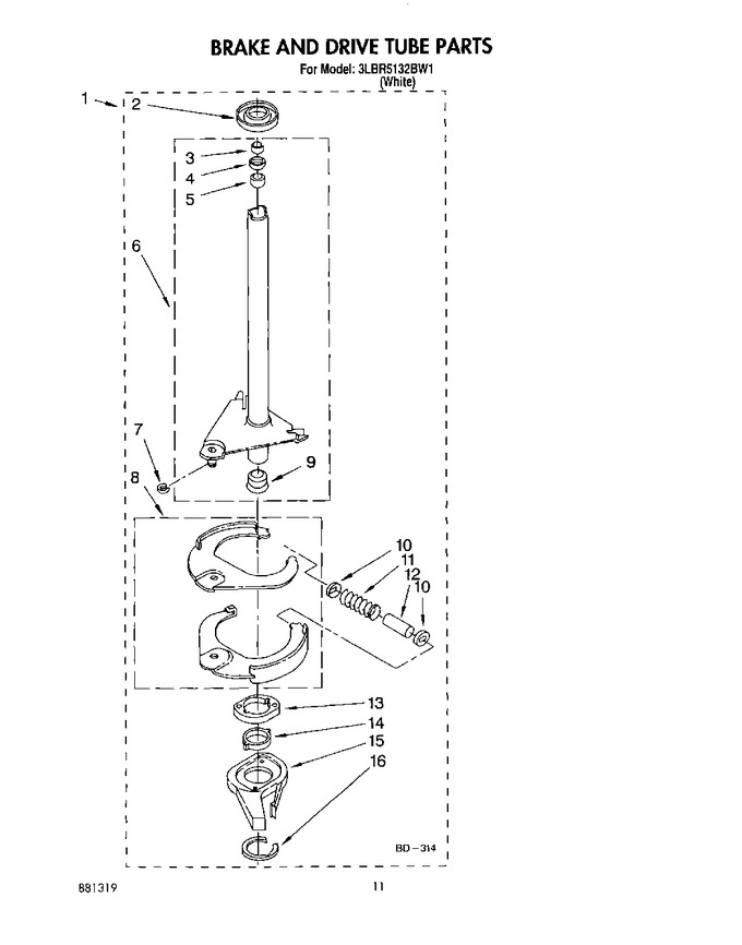 Diagram for 3LBR5132BW1