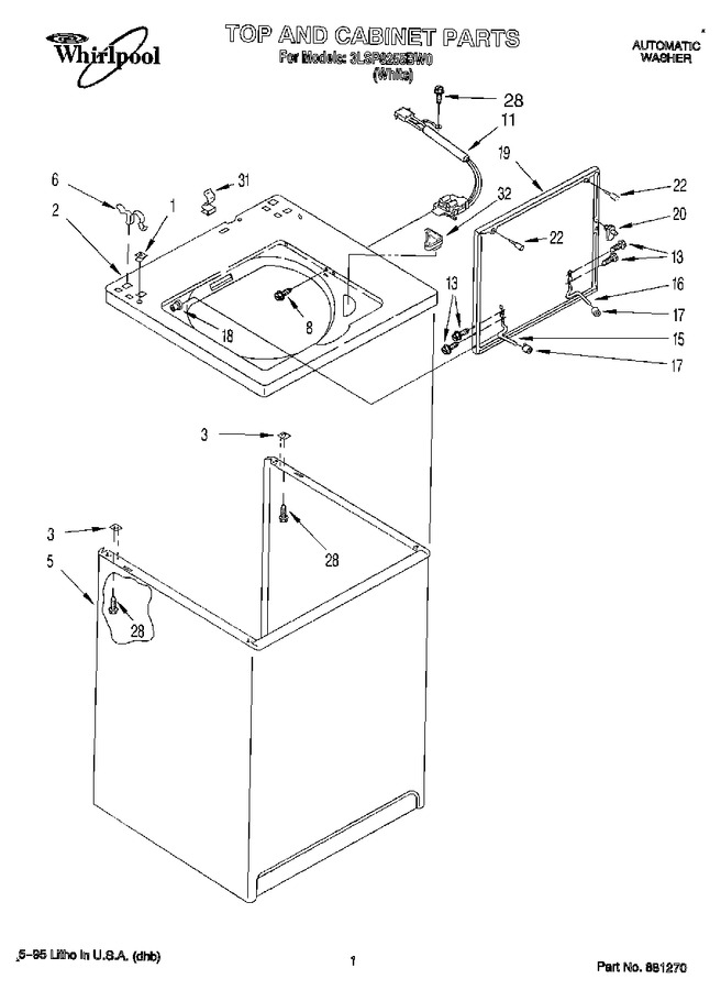 Diagram for 3LSP8255BW0